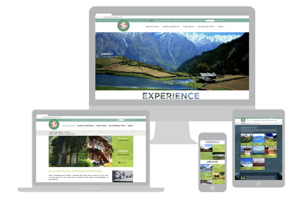 Travel website: