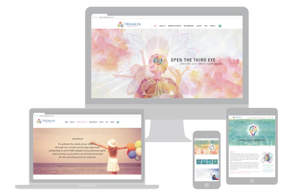 Trikaaya website: